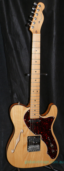 "~SOLD~ Fender U.S.A. `97 ""90s Thinline"" Natural"